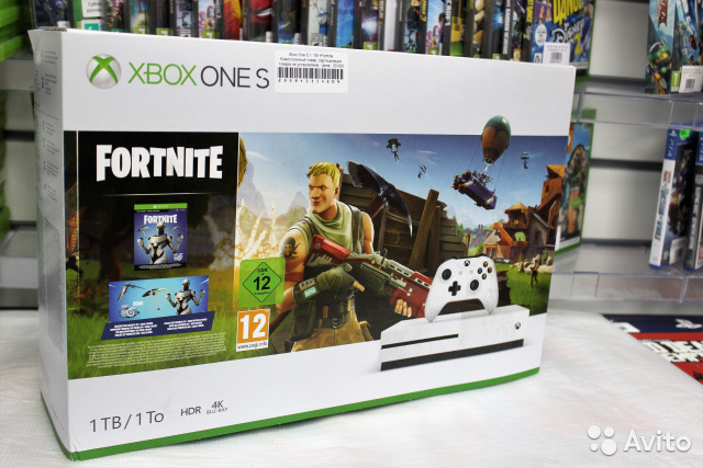 xbox one microsoft s 1tb fortnite fotografiya 1 - xbox 360 fortnite