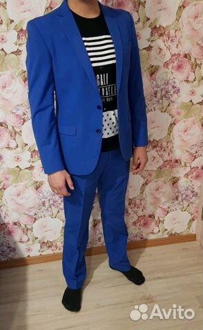 Мужской костюм + туфли пиджак 89991338544 купить 1