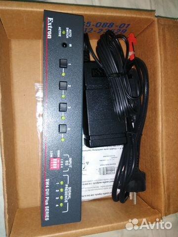 Коммутатор Extron SW4 DVI Plus, SW4 USB купить в Москве на