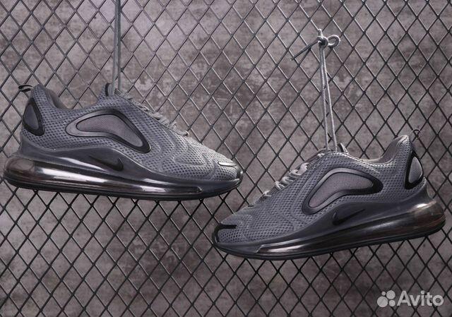 ba8d93de Кроссовки Nike Air Max 720 Carbone Grey Black купить в Красноярском ...