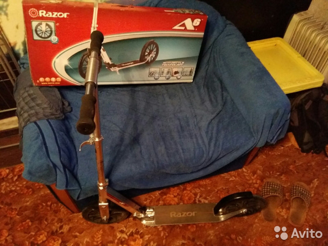 Самокат Razor A6 89376331326 купить 2