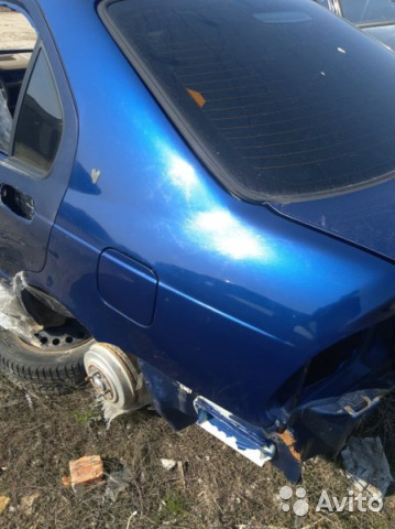Крыло заднее левое Rover 400 RT 16K4F 1995 88002228407 купить 1