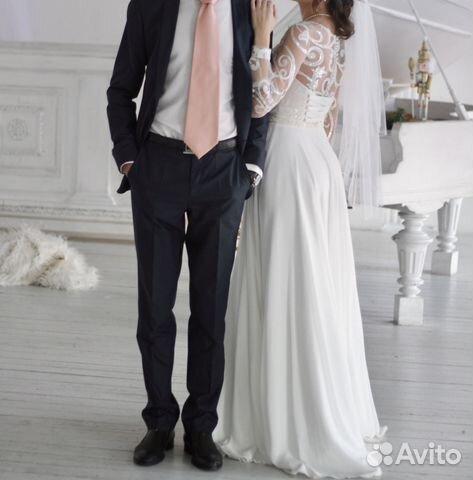 Свадебное платье Ulana, А-Силуэт 89524482466 купить 4