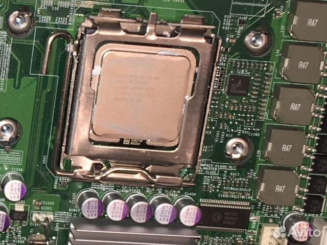 2 процессора Intel Xeon E5450 slbbm