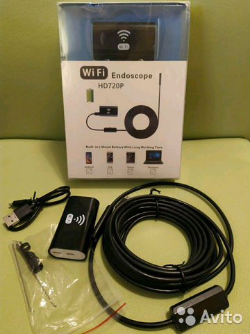 Камера эндоскоп 2м 5м с WiFi 89137906631 купить 1