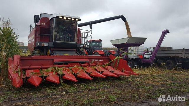 Жатка для уборки подсолнечника и кукурузы