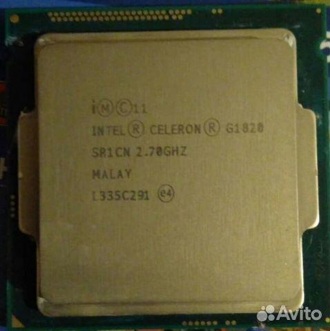 Intel celeron G1820 SR1CN 2.70GHX malay L335C291