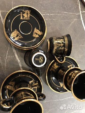 Коллекционный кофейный набор Греция-ручная роспись 89180478771 купить 7