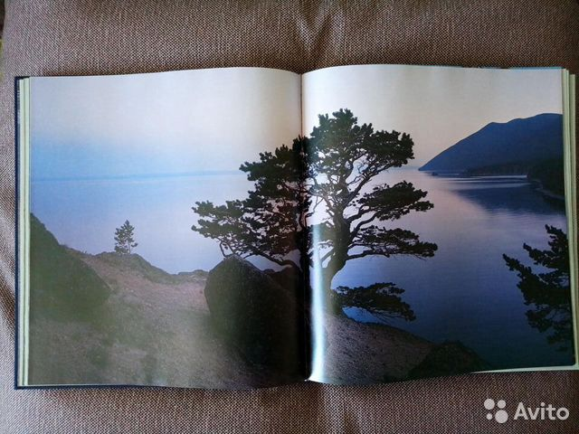 Книга фотоальбом baikal 1990 г  89240170026 купить 2