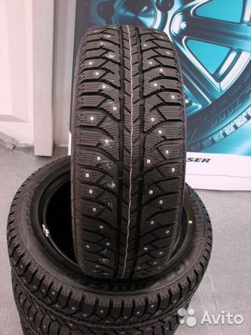 Комплект 185/60R15 Bridgestone Ice Cruiser 7000S— фотография №1