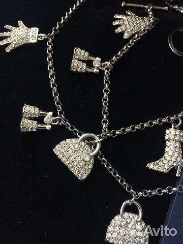 Swarovski колье и браслет оригинал 89818795851 купить 2
