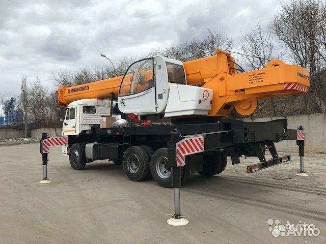 Услуги автокрана 25 тонн 31м Аренда крана  купить 3