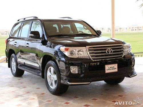 Обвес для toyota land cruiser 200 2012г— фотография №1