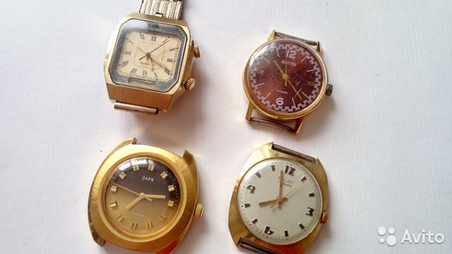 золотых часов зенит стоимость