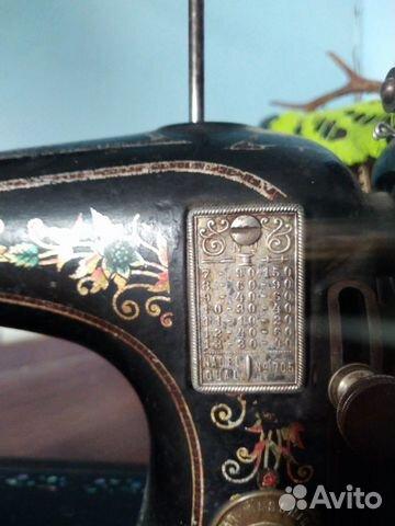 Швейная машина NAH maschinen 1890 -1910гг 89080119999 купить 2