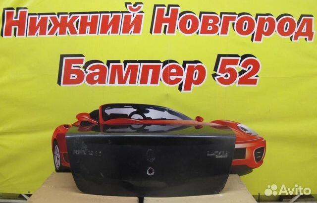 89524408730 Renault Logan 2005-2013 крышка багажника черн)