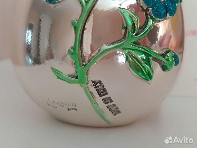 Коллекционное яйцо, Италия, серебрение, Euro F.A.R 89110075006 купить 3