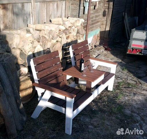 Лавка садовая деревянная  89378211314 купить 3