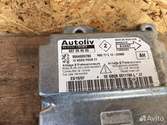 Блок управления аирбаг Peugeot 308 Т7 EP6 2009 89291111129 купить 3