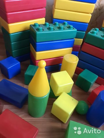Набор игрушек (пластиковый конструктор)  89991673701 купить 2