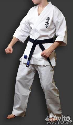 Кимоно для киокушинкай с вышивкой