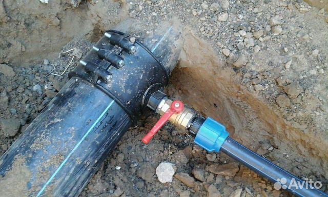 Водопровод под ключ. Врезка