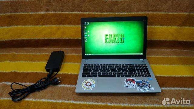 Ноутбук asus N56VB  89787166927 купить 1