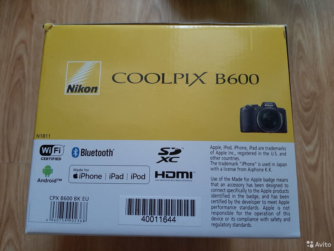 Новый фотоаппарат Nikon Coolpix B600  89371113360 купить 3