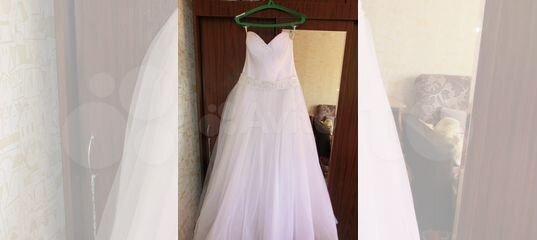 Продам хорошее удобное. Свадебное платье