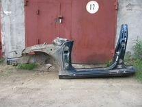 Порог кузовной Rover 75 (Ровер 75) 1999 г.в. RJ
