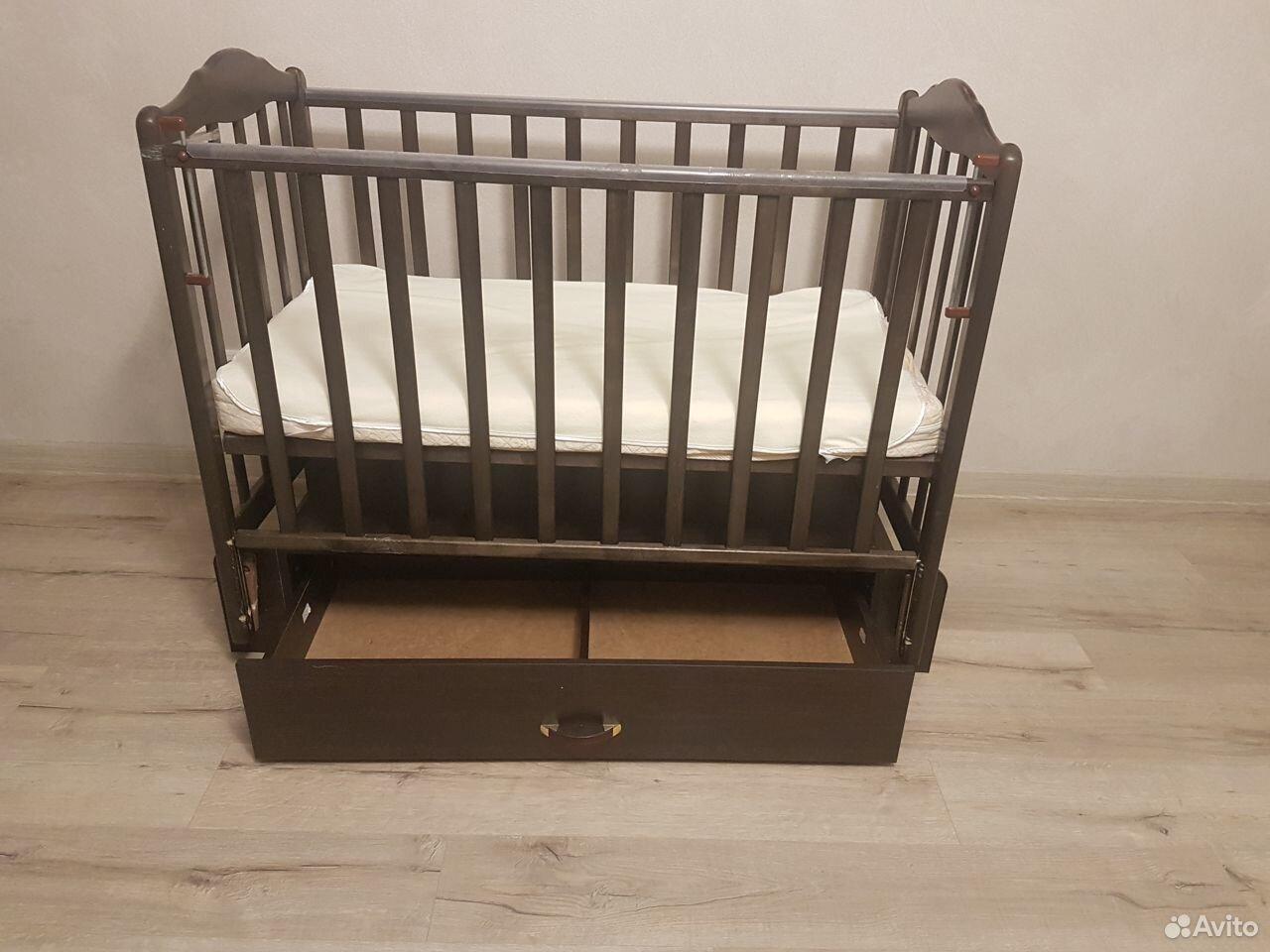 Детская кроватка с матрасом и наматрасником  89069638661 купить 2