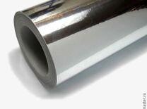 Плёнка хром серебро