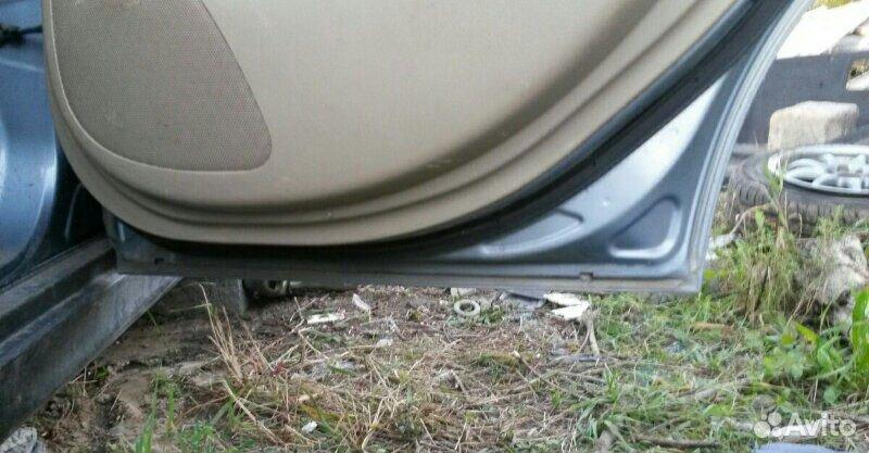 Дверь задняя правая Nissan Tiida latio HR15DE 2005  89534094813 купить 4