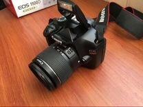 Фотоаппарат Canon rod 1100 d