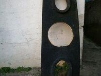 Две Задние полки на ниву и ваз 2112 (дерево)