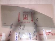 Стекло передней правой двери,оригинал,Киа Рио 3