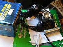 Налобный/ручной фонарь 2 в1