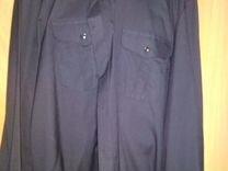 Рубашка вмф чёрного цвета