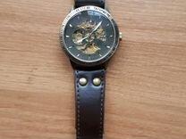 Часы мужские механические скелетон с автоподзаводо