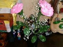 Букет из роз (бисер) — Мебель и интерьер в Москве