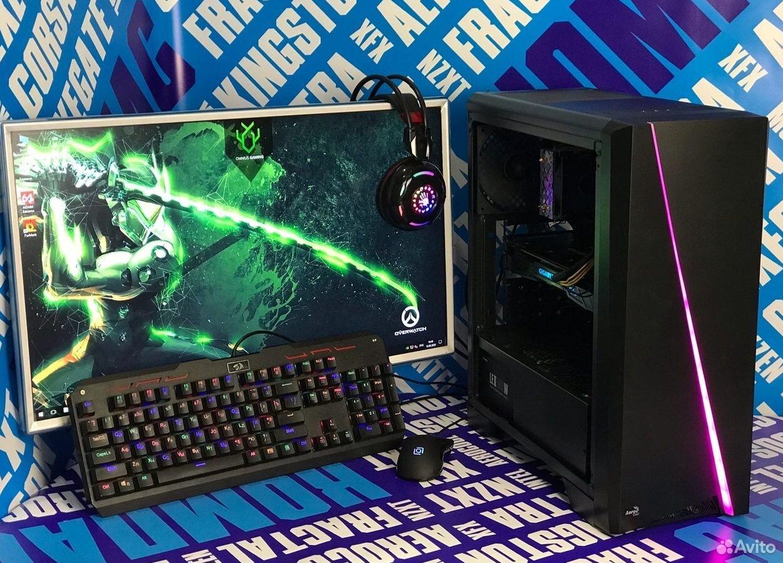 Игровой R5 3600 8GB GTX1070ti(8gb) ssd480  89219026431 купить 1