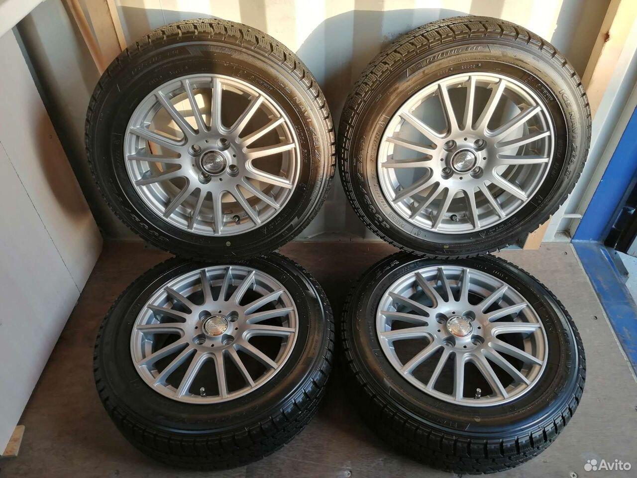 Комплект колес (№148) из Японии  89244146927 купить 1