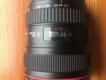 Canon 24-105L состояние идеальное