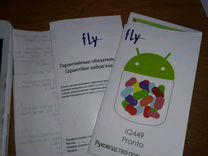 Смартфон Fly IQ449 Pronto