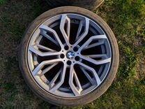 Разноширокие колеса BMW X5, X6