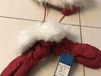 Новые краги Lassie 1-2 года, шапка без этикетки но