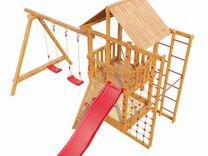 Детская игровая площадка Сибирика спорт с турником
