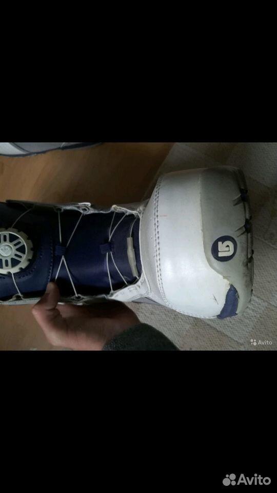 Сноубордические ботинки Burton Tyxo  89217665260 купить 5