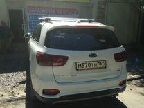 Багажник на Киа Соренто Прайм (алюмин) +монтаж