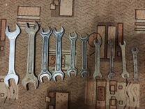 Гаечные ключи - 10 шт